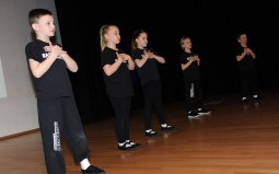 Razzamataz perform at the Sheffield Star Superkids Awards 2016.