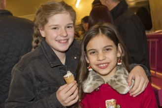 The Star Super Kids Awards Studio Theatre at The Crucible Amelia Thompson and Scarlet Archer