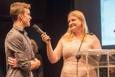 The Star Super Kids Awards Studio Theatre at The Crucible Joshua Saunders interviewed by Atar Editor Nancy Fielder