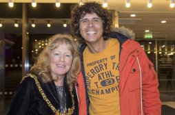 The Star Super Kids Awards Studio Theatre at The Crucible Lord Mayor Anne Murphy and CBeebies star Andy Day