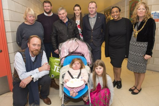 The Star Super Kids Awards Studio Theatre at The Crucible Macy Stocks and family meet the Lord Mayor and panto stars
