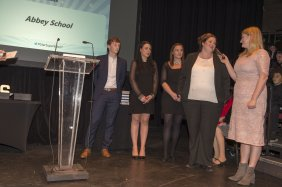 The Star Super Kids Awards Studio Theatre at The Crucible School winners Abbey School